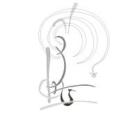 immediate settings with supports and base clef to question mark